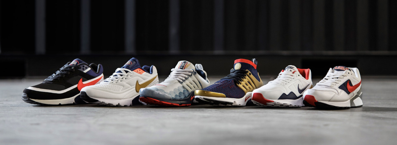 The Sneaker Drop: Nike Olympic Pack The wayward way